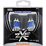 SYLVANIA - 9006 (HB4) SilverStar zXe High Performance Halogen Headlight Bulb - Headlight & Fog Light, Bright White Light Output, HID Attitude, Xenon Fueled Technology (Contains 2 Bulbs)