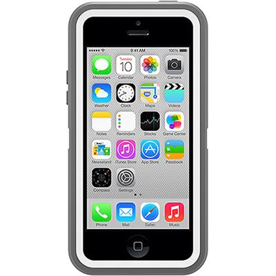 Otterbox 77-33392 Defender Series Apple Iphone 5c - Protective Cover For Cell Phone - Polycarbonate  Rubber - White  Gunmetal Gray - For Apple Iphone 5c