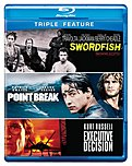 Warner Bros  883929250936 Triple Feature: Executive Decision / Point Break / Swordfish - Blu-ray