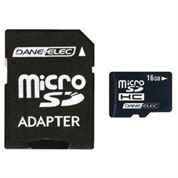Dane-Elec Da-2In1-16G-R 16Gb Micro Sd Card