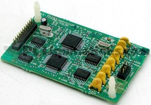 Panasonic KX-TD193 Caller-ID Module W/ 4 Circuit Add-on Board For KX-TD816 And KX-TD1232