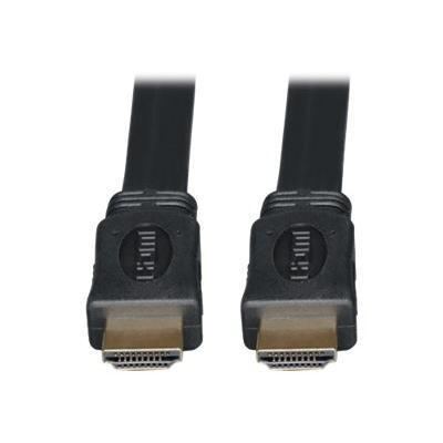 Tripplite P568-010-fl 10ft High Speed Hdmi Cable Digital Video With Audio Flat Shielded 4k X 2k M/m 10' - Hdmi Cable - Hdmi (m) To Hdmi (m) - 10 Ft - Triple Shi