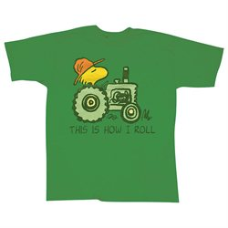 Woodstock On Tractor This Is How I Roll Farmers Delight T-Shirt