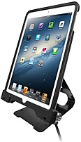 Cta Digital Pad-ascs Anti-theft Security Case With Pos Stand For Ipad Air And Ipad Air 2
