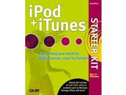 iPod and iTunes Starter Kit Binding: Mixed media product Publisher: Pearson Education (US) Publish Date: 2004-12-06 Pages: 432 Weight: 1.75 ISBN-13: 9780789733870 ISBN-10: 0789733870