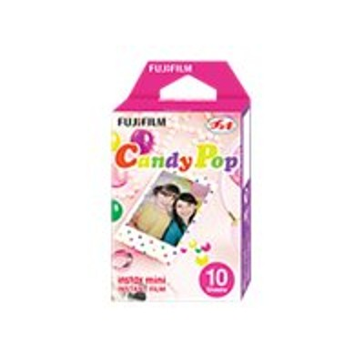 Fujifilm 16321418 Instax Mini Candy Pop - Color Instant Film - Iso 800 - 10 Exposures