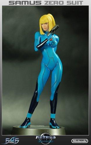 Metroid Prime Zero Suit Samus 1/6 scale Statue