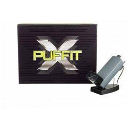 Discreet Vape PUFFiT X Forced Air Portable Vaporizer (Grey)