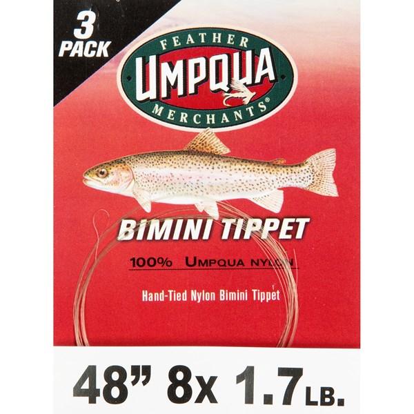 Umpqua Feather Merchants Bimini Nylon Tippet - 3-Pack