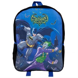 Batman - Batman And Joker Fight Medium Backpack