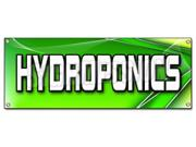 HYDROPONICS BANNER SIGN grower grow growing signs plants flowers florist