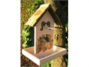 Home Bazaar HB-9078P5S Printed Fruit Feeder- Love Doves With Olive Green