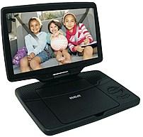 Rca Drc98101s 10-inch Portable Dvd Player - Black
