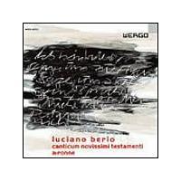 Luciano Berio - Canticum Novissimi Testamenti, A-Ronne (Rundel) (Music CD)