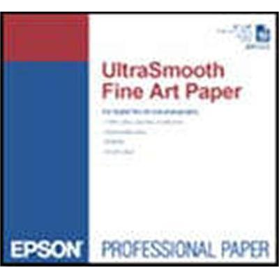 Epson S041897 Ultrasmooth Fine Art - Natural White - Ansi C (17 In X 22 In) - 325 G/m² - 25 Pcs. Paper - For Stylus Pro 3800  Pro 3880  Stylus Photo 2200