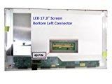 Toshiba L670 PSK3AU-09903H Laptop Screen 17.3 LED BOTTOM LEFT WXGA