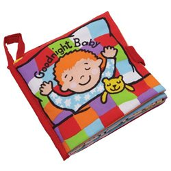 Jellycat Goodnight Baby (Soft Book)