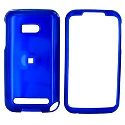 Blue Hard Plastic Case Snap On Cover For Verizon HTC Imagio