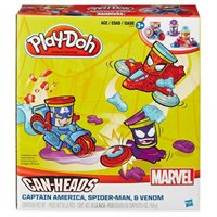 Play-doh Marvel Canheads Vehicle By Hasbro