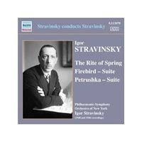 Stravinsky: The Rite of Spring; Firebird Suite; Petrushka Suite (Music CD)