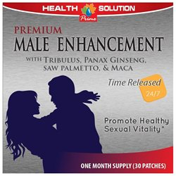 Premium Male Enhancement Patches. Promotes Sexual Vitality. (1 Pack 30 Patches)