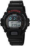 Casio Men's G-Shock DW6900-1V Black Resin Sport Watch
