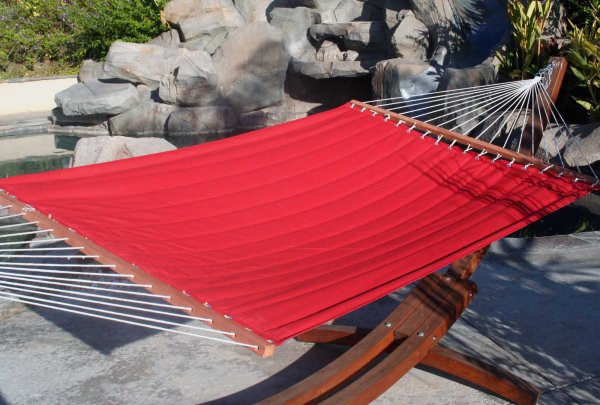 Sunbrella Covered Hammock Bed - by Red Star Traders - OP-SHS01.R