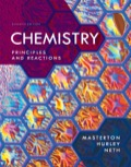 Masterton/Hurley/Neth's CHEMISTRY: PRINCIPLES AND REACTIONS, 7e, takes students directly to the crux of chemistry's fundamental concepts and allows you to efficiently cover all topics found in the typical general chemistry book