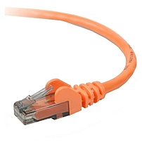 Belkin Cat.6 Patch Cable - Rj-45 Male - Rj-45 Male - 6ft - Orange A3l980-06-org-s