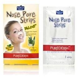 Purederm Botanical Choice Nose Pore Strips - Aloe 6 Strips