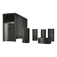Bose Acoustimass V Series 10 5.1 Speaker System - 200 W Rms - Floor Standing, Flush Mount, Table Mountable, Wall Mountable - Black - Surround Sound 720962-1100