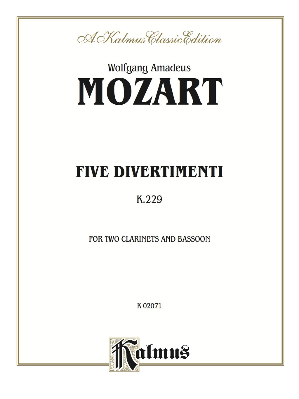 By Wolfgang Amadeus Mozart PRINTISBN: 9780769277844 E-TEXT ISBN: 9781457469770 Edition: 1