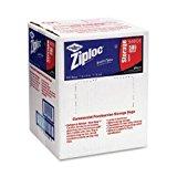 Ziploc Double Zipper Quart Size Plastic Storage Bags, 500/Carton (DRA94601)
