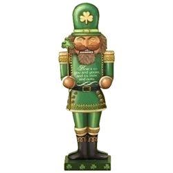 Roman Holiday Christmas Irish Ireland Nutcracker Shaped Figurine