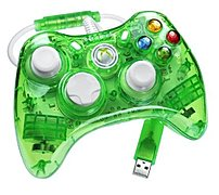 Pdp Pl3760gr Rock Candy Controller For Xbox 360 - Green