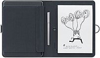 The CDS600P Bamboo Spark is a smart folio with a smart ballpoint pen and a spot for your favorite paper