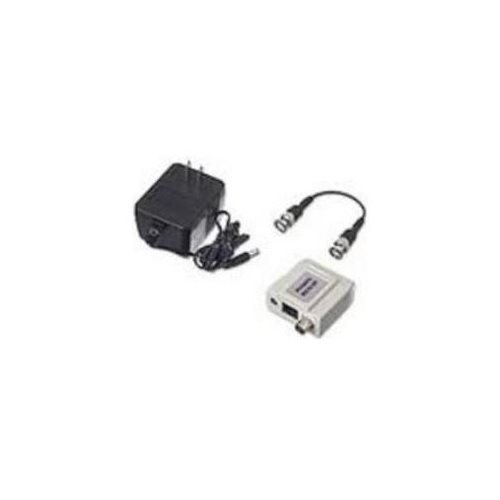 MWAVE BNCPIVB870BS78S video balun BNC male to Cat-5 video & power receiver site