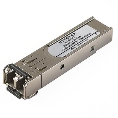 Netgear Agm731f Prosafe Agm731f - Sfp (mini-gbic) Transceiver Module - Gigabit Ethernet - 1000base-sx - Lc Multi-mode - For Prosafe M4300-28g-poe