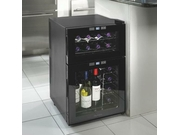 Wine Enthusiast Silent 24 Bottle Dual Zone Touchscreen Wine Refrigerator