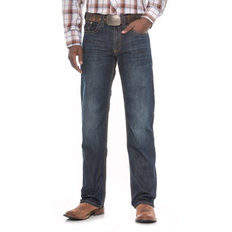Modern Straight-leg Jeans - Stitched Double Arch (for Men)