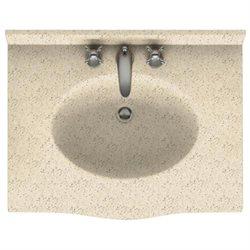 Swanstone Bathroom Vanity Counter Top EV1B2237-050 22 1/2''D x 37''W, Tahiti Desert
