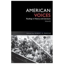 American Voices: Readings in History and Literature