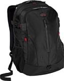 Targus Terra Backpack Designed for 16-Inch Laptops - TSB226US (Black/Red Accents)