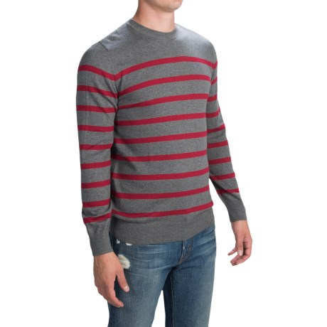 Barbour Cotton-cashmere Striped Sweater (for Men)