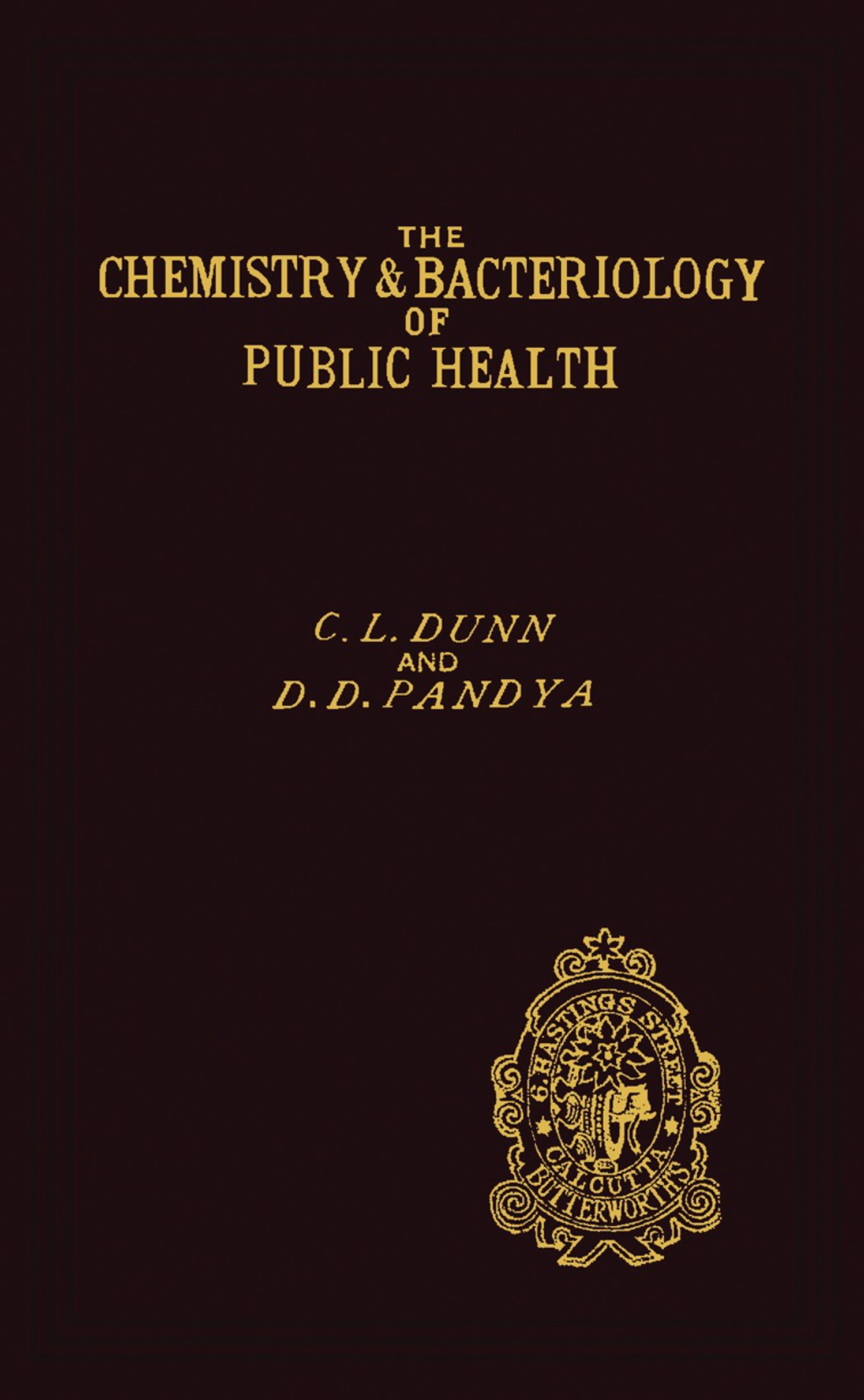 The Chemistry And Bacteriology Of Public Health (ebook)