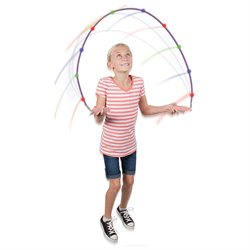 Light Up Jump Rope - Sparkler LED Kinetic Action Powered Lights With Fun App