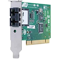 P The Allied Telesis AT 2701FXa 100Mbps Network Interface Card features a small footprint and a low profile option, making it a perfect choice for PCs equipped with small desktop solutions