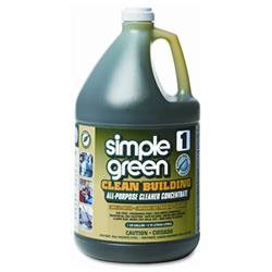 Simple Green SPG11001 Clean Building All-Purpose Cleaner Concentrate 1 gal. Bottle, N/A
