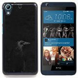 - Crow Black Night Minimalist Peak Dark/ Hard Snap On Cell Phone Case Cover - Cao - For HTC Desire 626 & 626s