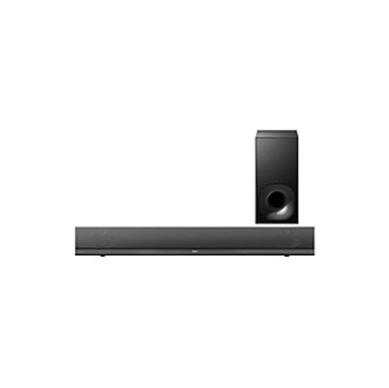 Sony Ht-nt5 Sound Bar Speaker - Wireless Speaker(s) - Wall Mountable - Black - Virtual Surround Sound, Dts-hd High Resolution, Dolby Truehd, S-force P